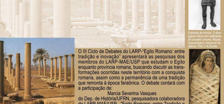 III Ciclo de Debates do LARP (20/4 – 19H)